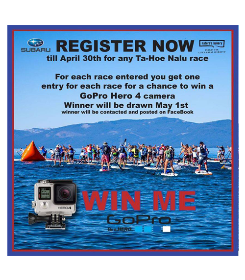 Register to Win A GoPro 4!