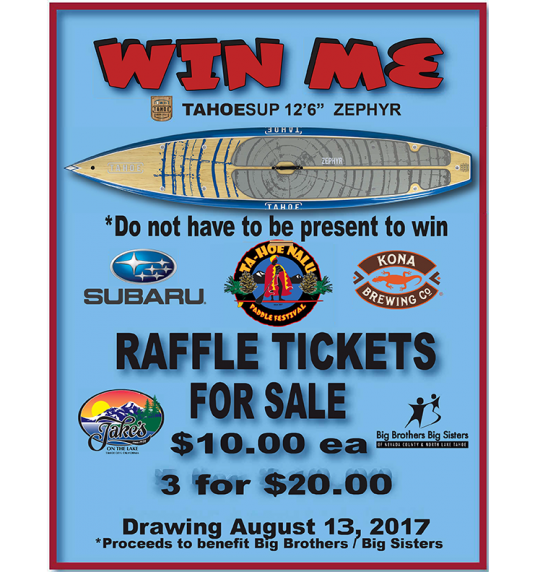 Win A Paddle Board!